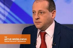 Wywiad z mgr Arturem Wróblewskim z Wydziału Ekonomii i Zarządzania UŁ