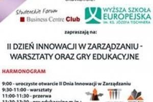 Dzień Innowacji w Zarządzaniu w WSE w Krakowie