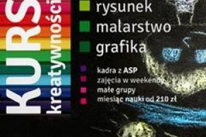 GWSP Chorzów zaprasza na kurs kreatywności!