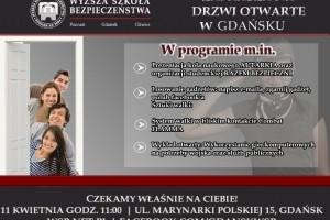 Wyższa Szkoła Bezpieczeństwa w Gdańsku zaprasza na Drzwi Otwarte