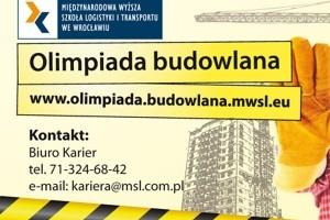 Postaw na MWSLiT we Wrocławiu i weź udział w II edycji Olimpiady Budowlanej