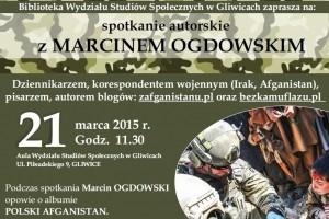 """""""Polski Afganistan"""" w Wyższej Szkole Bezpieczeństwa w Gliwicach"""