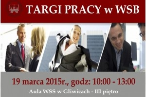 Wyższa Szkoła Bezpieczeństwa w Gliwicach zaprasza na Targi Pracy