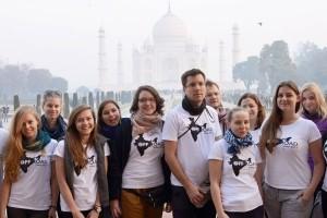 Studenci UEP z wizytą w ośrodku dla trędowatych w Indiach