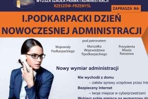 I Podkarpacki Dzień Nowoczesnej Administracji w WSPiA