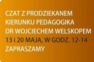Rozmowa z prodziekanem kierunku pedagogika WSBiNoZ w Łodzi