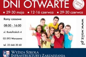 Dni Otwarte w WSIiZ w Warszawie