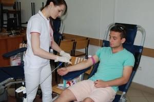 Oddaj krew – uratuj życie w PWSTE w Jarosławiu
