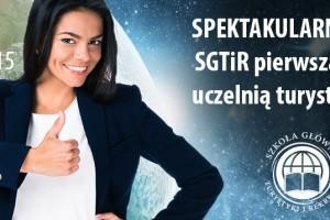 SGTIR pierwszą niepubliczną uczelnią turystyczną w Polsce