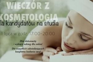 Wieczór z kosmetologią w WSIiZ w Warszawie