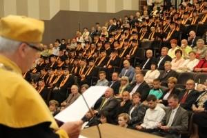 Uroczyste Absolutorium absolwentów Wyższej Szkoły Logistyki