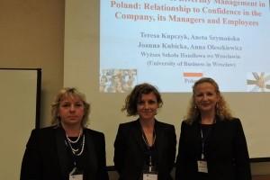 Wykładowcy z Wyższej Szkoły Handlowej we Wrocławiu dotarli aż do Japonii