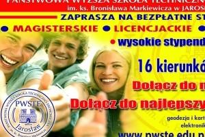 Trwa rekrutacja w PWSTE w Jarosławiu