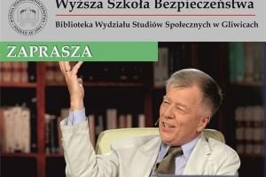 Prof. Jan Miodek odwiedzi Wyższą Szkołę Bezpieczeństwa