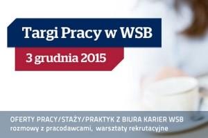 XIII Targi Pracy w Wyższej Szkole Bankowej we Wrocławiu