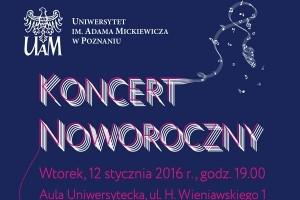 Koncert Noworoczny w Auli Uniwersyteckiej UAM