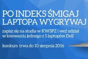 Studiuj w KWSPZ i wygraj laptopa Dell