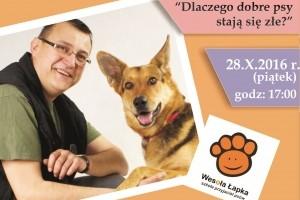 Spotkanie z psim behawiorystą w WSB w Gliwicach