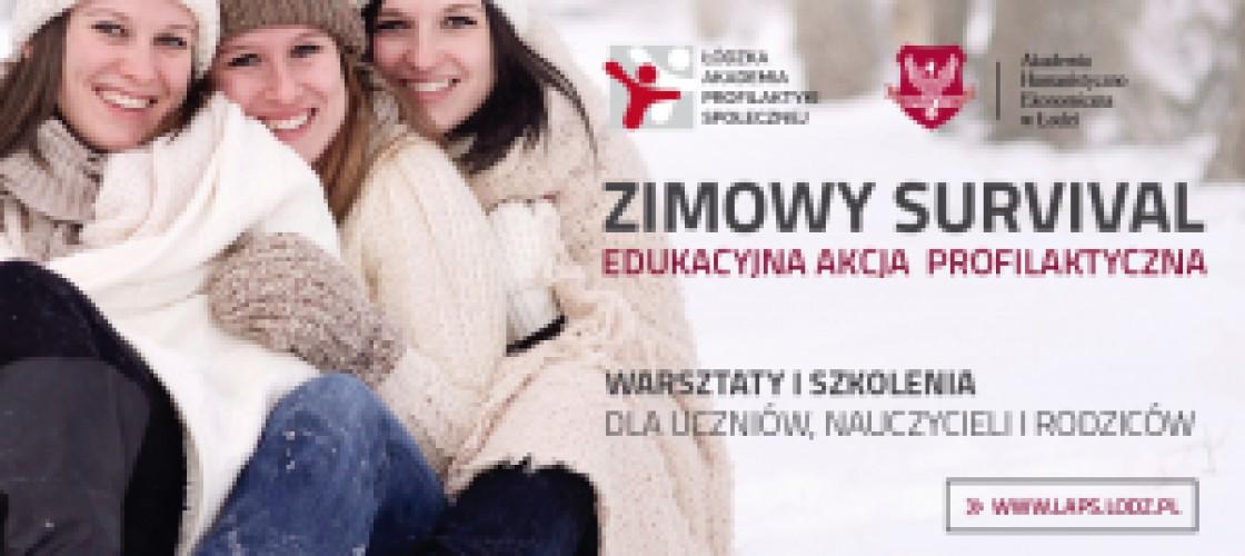 AHE z Łodzi zaprasza na Zimowy Survival