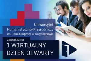 Wirtualny Dzień Otwarty w UJD
