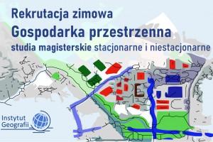 Gospodarka przestrzenna na Uniwersytecie Pedagogicznym w Krakowie