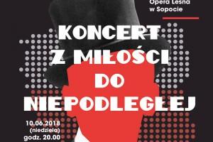 Wyjątkowy koncert w Operze Leśnej w Sopocie z okazji obchodów 100-lecia Niepodległości Polski