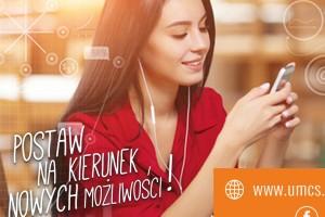 Nowy kierunek - Społeczeństwo informacyjne na Uniwersytecie Marii Curie-Skłodowskiej w Lublinie
