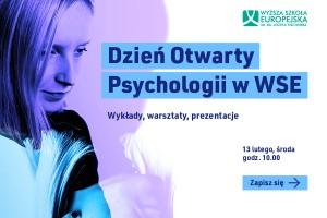 WSE im. J. Tischnera zaprasza na Dzień Otwarty Psychologii