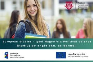 Studiuj Politologię za darmo w AHE