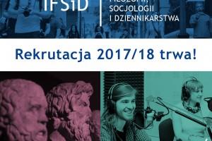 Rekrutacja w Instytucie Filozofii, Socjologii i Dziennikarstwa Uniwersytetu Gdańskiego trwa