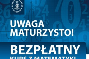 Bezpłatny kurs z matematyki na Akademii Morskiej w Szczecinie