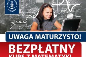 Akademia Morska w Szczecinie zaprasza bezpłatny kurs z matematyki