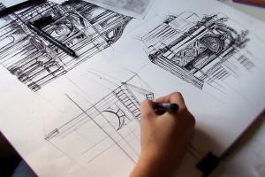 Wakacyjny kurs rysunku w Wyższej Szkoły Technicznej w Katowicach
