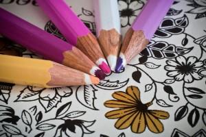 Nowy sposób na stres - kolorowanki dla dorosłych