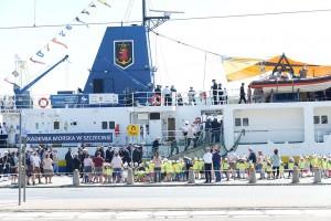 Dwie dekady Nawigatora XXI - statku badawczo-szkolnego AM w Szczecinie