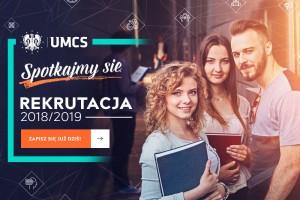 Nie zwlekaj - kończy się rekrutacja na Uniwersytecie Marii Curie-Skłodowskiej