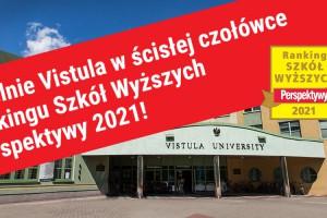 Uczelnie Vistula w ścisłej czołówce Rankingu Szkół Wyższych