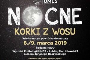 """""""Nocne korki z WOS-u"""" na UMCS w Lublinie"""