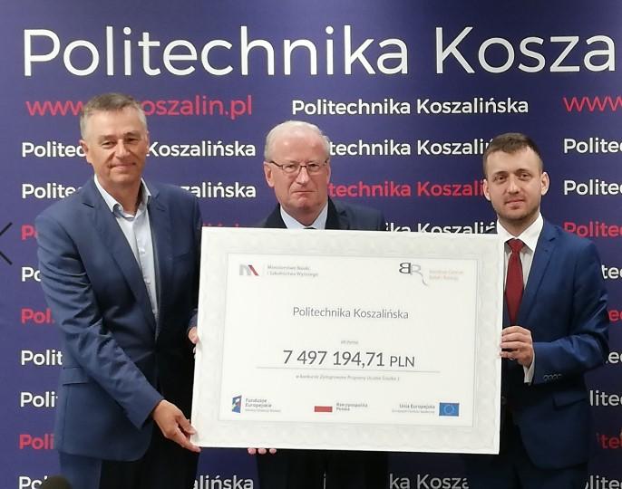 Pieniądze na rozwój Politechniki Koszalińskiej