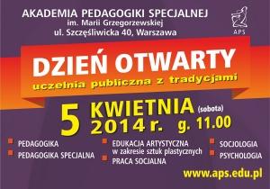 Dzień Otwarty w Akademii Pedagogiki Specjalnej