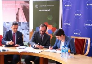 Uniwersytet Ekonomiczny w Poznaniu i Nivea będą współpracować