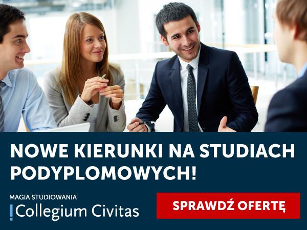 Nowe propozycje studiów podyplomowych w Collegium Civitas