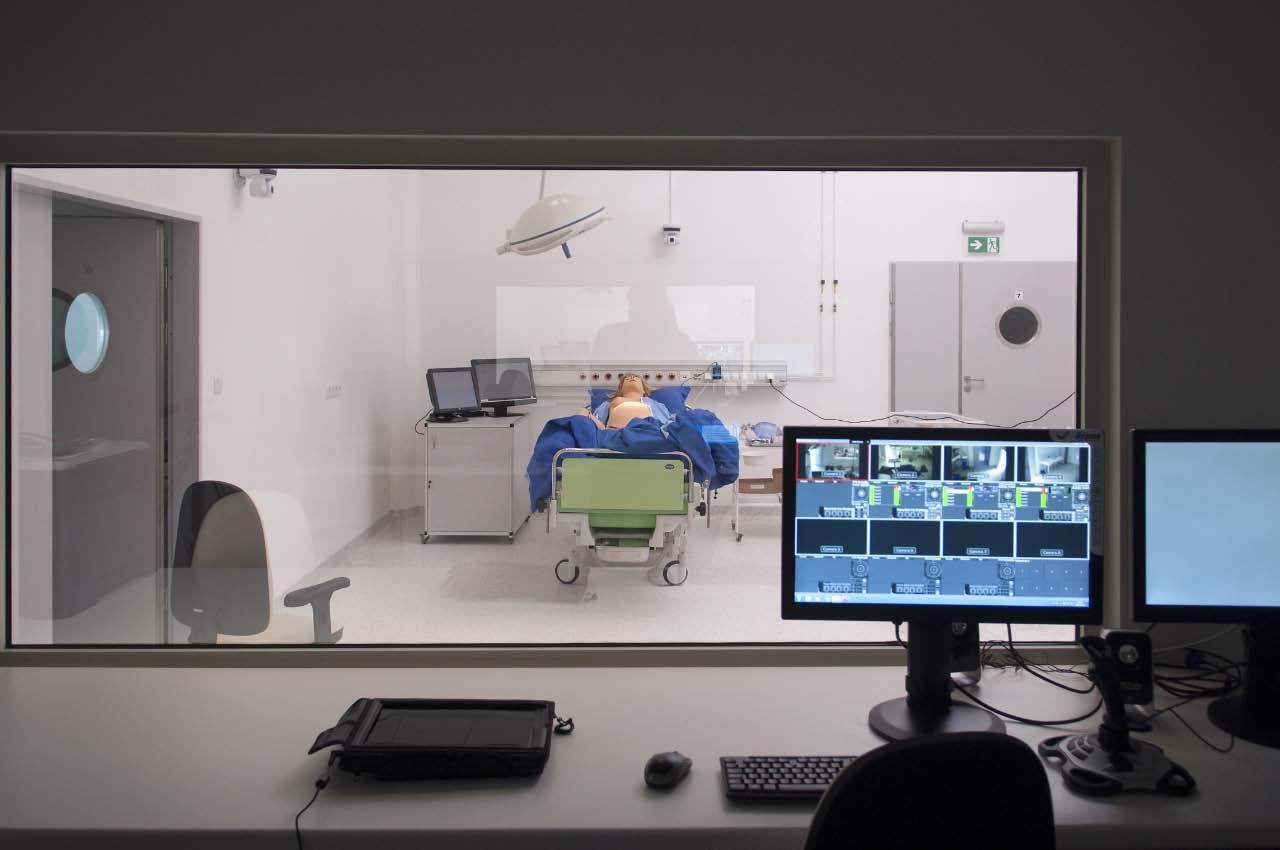 Centrum Symulacji Medycznych w Powiślańskiej Szkole Wyższej w Kwidzynie