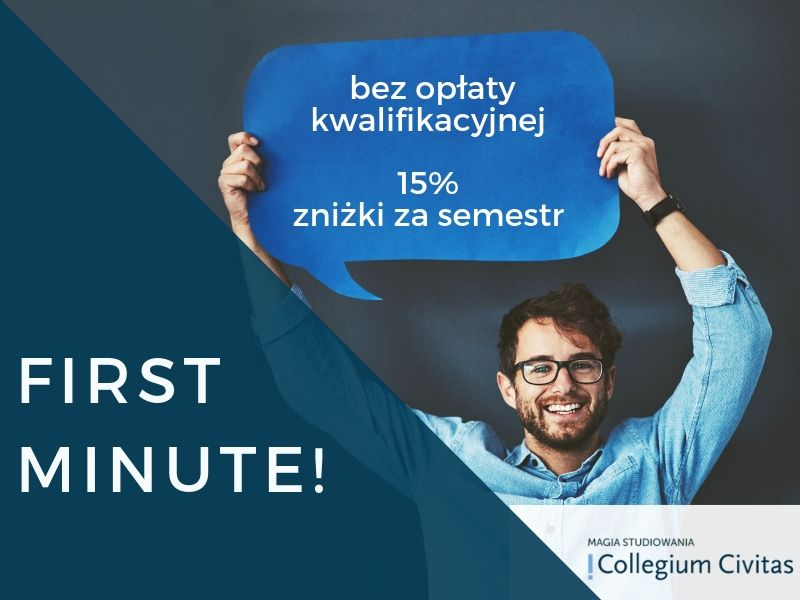 Trwa promocja First Minute w Collegium Civitas