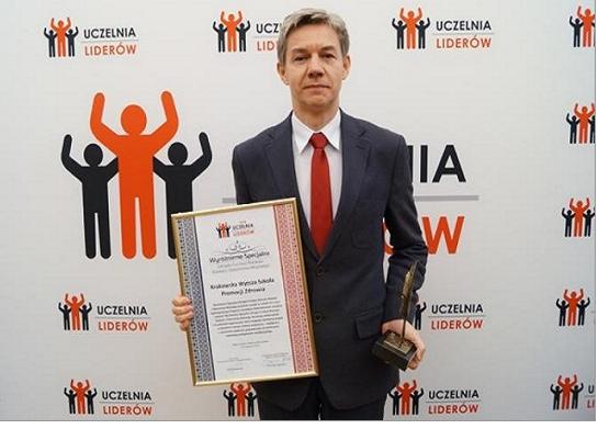 Certyfikat Uczelnia Liderów 2018 dla KWSPZ