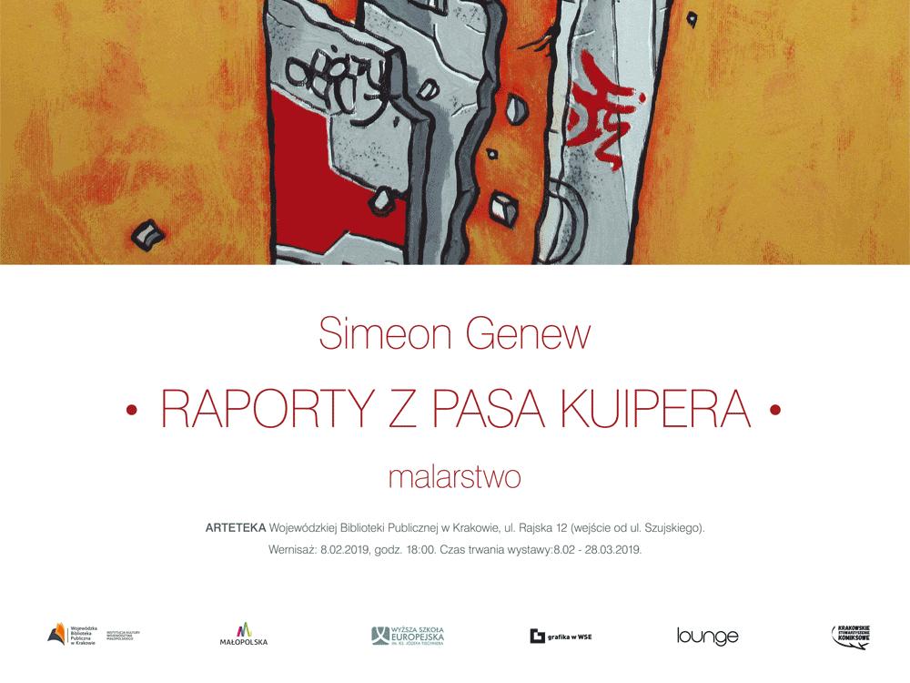 Wystawa malarstwa Simeona Genewa w WSE im. ks. Józefa Tischnera w Krakowie
