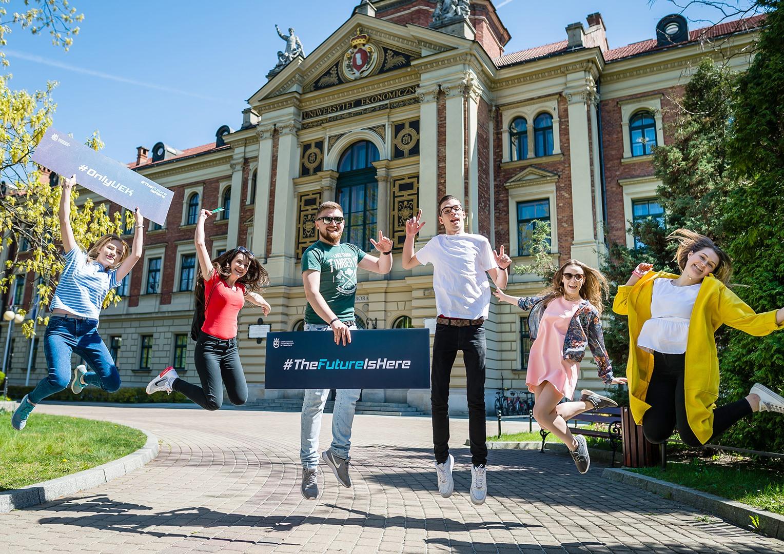 Uniwersytet Ekonomiczny w Krakowie, kierunki studiów, zasady rekrutacji