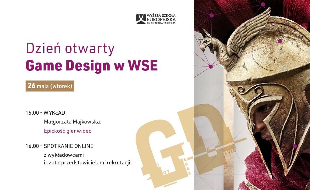 Dzień Otwarty GAME DESIGN w Wyższej Szkole Europejskiej w Krakowie