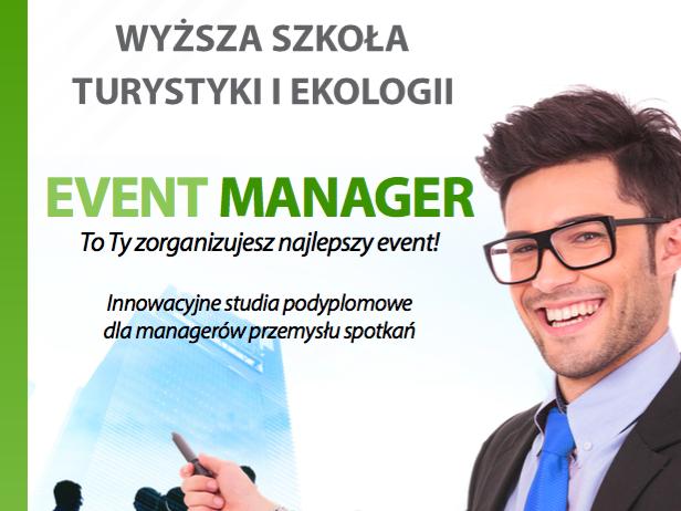 EVENT MANAGER – nowe specjalistyczne studia w WSTiE