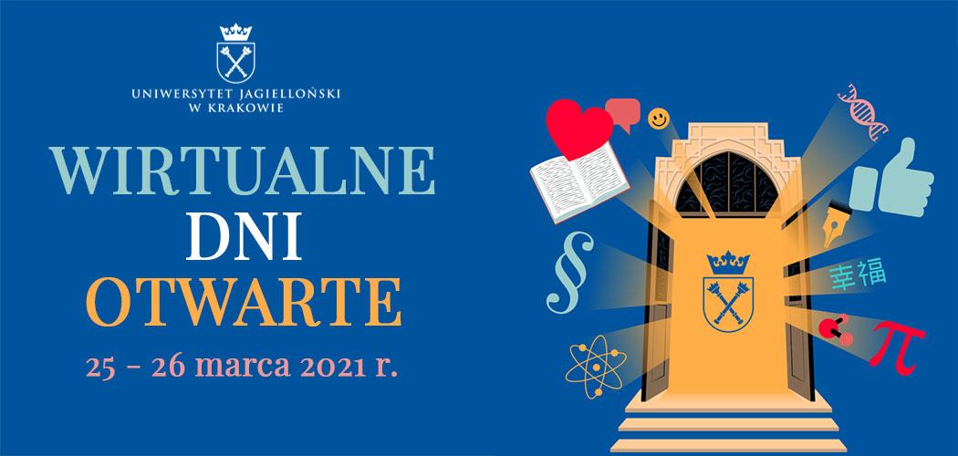 Wirtualne Dni Otwarte Uniwersytetu Jagiellońskiego